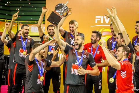 男排世俱杯奇维塔诺瓦首次夺冠