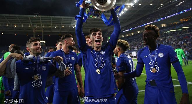 切爾西奪得歐冠冠軍