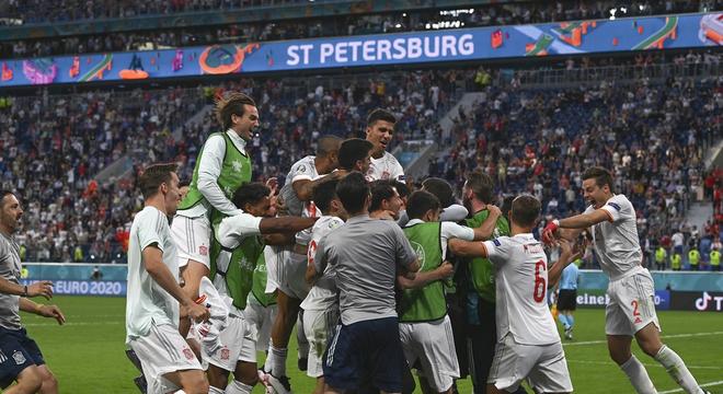 [歐洲杯]西班牙1-1(點球3-1)瑞士