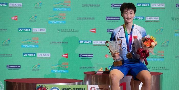陈雨菲今年六进决赛全胜夺冠 国羽女单终有扛旗人