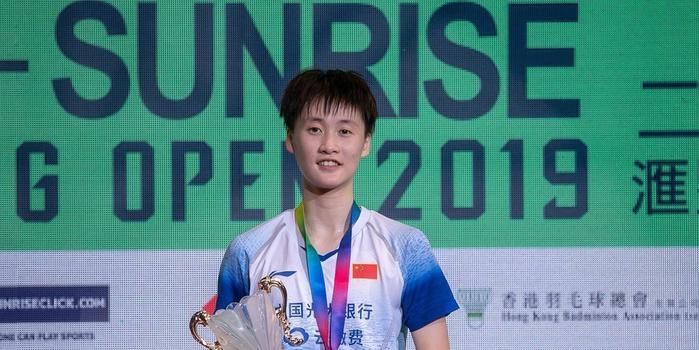 陈雨菲今年第二次背靠背夺冠 最近7个决赛全获胜