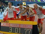 波兰打破男子4*400世界纪录