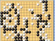 动图棋谱-商界棋王巅峰对决II 周天乐执黑中盘胜林文伯