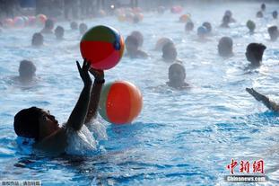德国室外游泳季