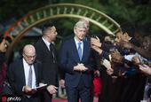 温格出席法甲球员工会颁奖典礼