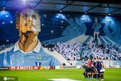罗森贝里最后一个主场比赛 马尔默球迷巨型tifo致敬37岁老将