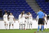 法国联赛杯1/8决赛里昂4:1图卢兹