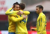2018足球友谊赛:日本1-2乌克兰