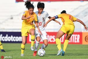 [亚少赛]U16女足0-2日本U16