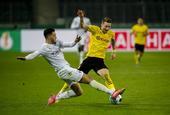 [德国杯]门兴0-1多特蒙德 桑乔破门
