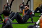 利物浦备战 范戴克恢复训练