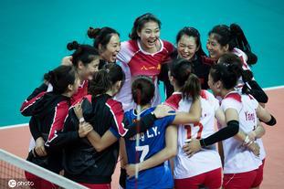 军运会小组赛中国女排3-0巴西