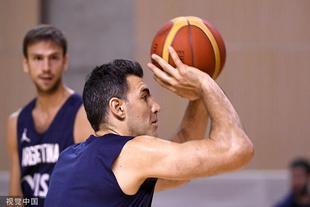 阿根廷男篮训练备战世界杯决赛