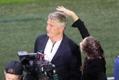 施魏因施泰格場邊報道歐洲杯打理發型