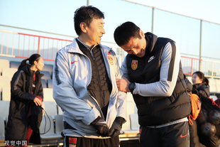国足选拔队抵达釜山开始训练