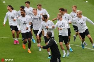 德国国家足球队备战训练