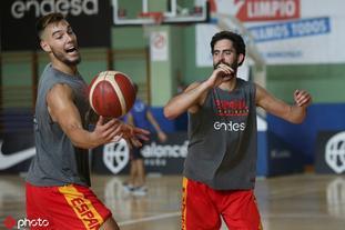 西班牙男篮备战国际友谊赛