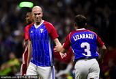 齐祖领衔法国98世界杯冠军成员亮相友谊赛