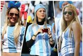 南美风情 盘点阿根廷队美女球迷