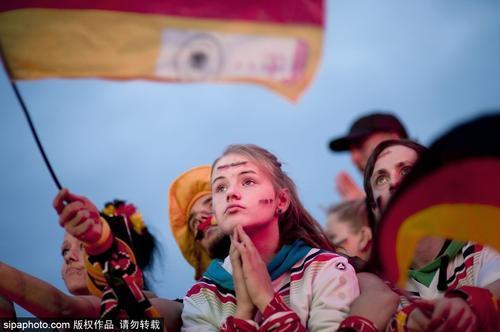 德国队美女球迷大盘点
