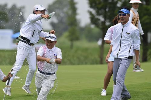 PGA青少年联赛中国总决赛 上海UNDER队夺冠