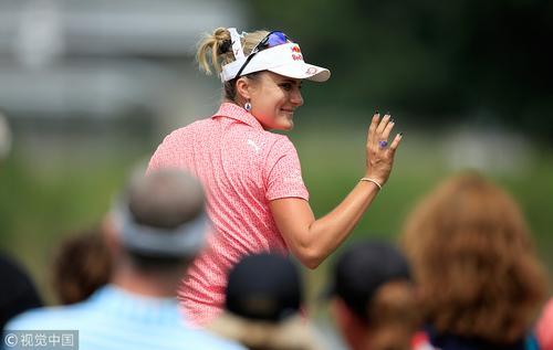 LPGA-印第安纳女子赛第三轮 萨拉斯领先