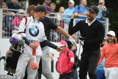 瓜迪奥拉亮相欧洲PGA锦标赛配对赛