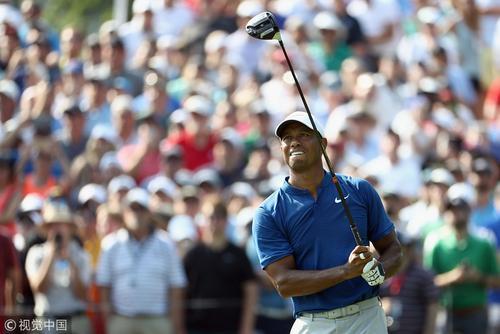 PGA锦标赛第三轮伍兹并列第六