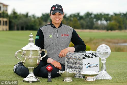 LPGA收官战汤普森夺冠 阿瑞雅赢百万大奖