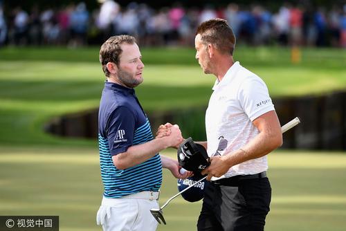 欧洲PGA锦标赛第三轮
