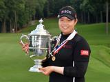 美国女子公开赛阿瑞雅夺冠