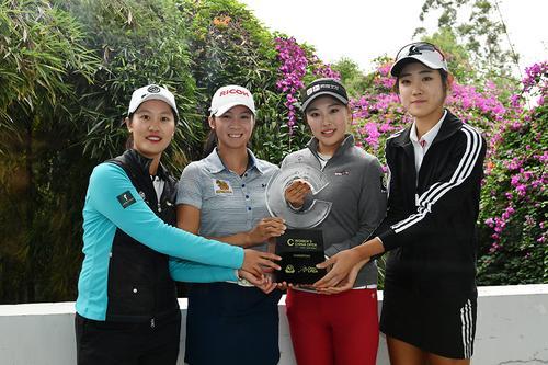 中国女子公开赛开幕照