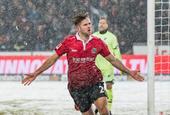 德甲汉诺威96 2-0霍芬海姆