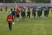 喀麦隆训练备战联合会杯
