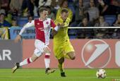 欧联杯比利亚雷亚尔2-2布拉格斯拉维亚