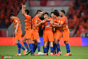 [中超]山东鲁能2-0北京国安