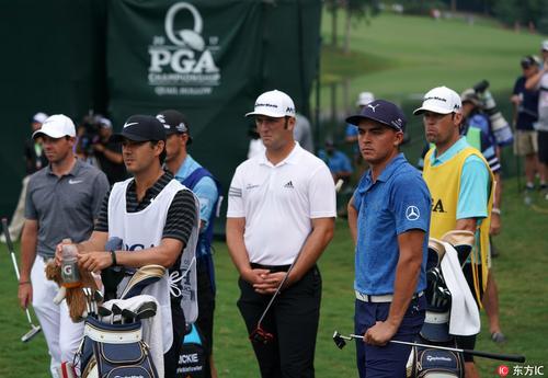PGA锦标赛小麦福勒拉姆同组