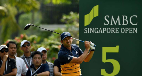 亚巡新加坡公开赛第二日