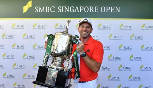 加西亚新加坡公开赛夺冠