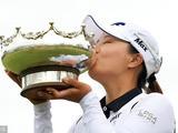 澳大利亚女子公开赛高真荣夺冠