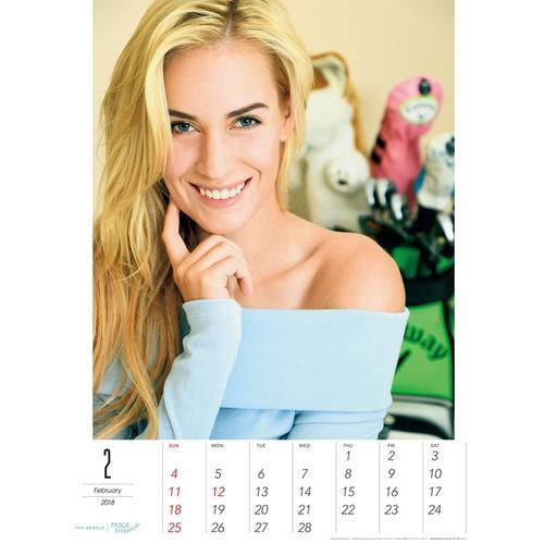 佩琪为日本杂志拍摄性感年历