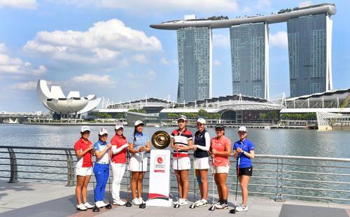 亚太女子业余锦标赛赛前照