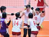 亚锦赛中国女排3-2日本进四强