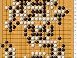 动图棋谱-梦百合杯柯洁中盘胜朴廷桓