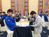 高清-智运会围棋团体赛第5轮 芈昱廷对阵连笑