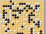 动图棋谱-梦百合杯16强战 谢尔豪执白胜金志锡