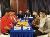 高清-十四全运会围棋决赛混双最终轮 上海江西争冠