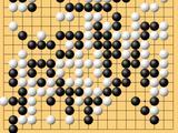 动图棋谱-围甲热身赛三四名决赛 时越负廖元赫