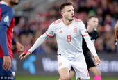 [欧预赛]挪威1-1西班牙