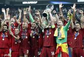 利物浦夺得欧洲超级杯